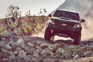 2017 Chevrolet Colorado ZR2 Takes To The Trails