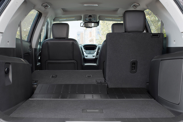 Best Cars for Tailgating - Chevy Equinox