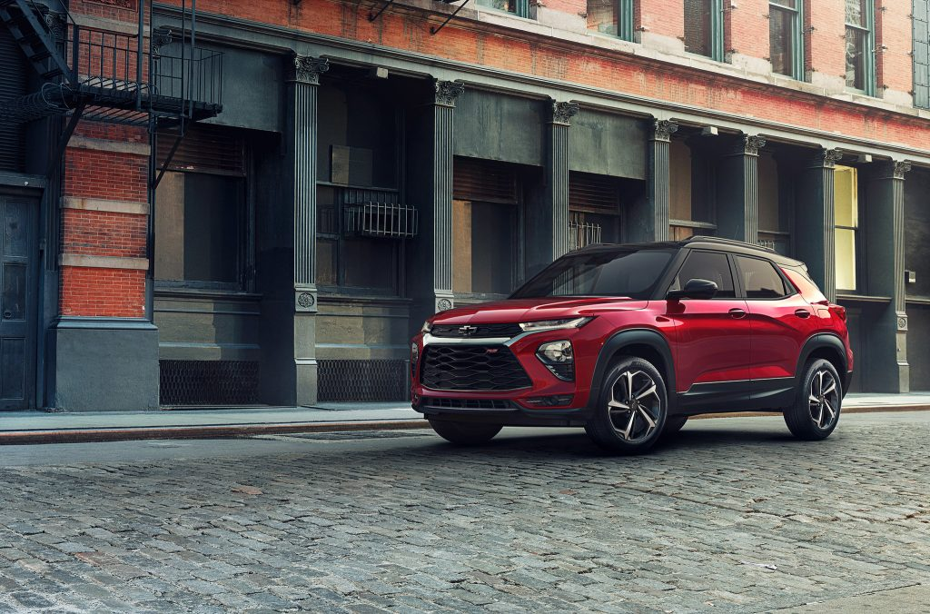 2021 Chevrolet Trailblazer Launches